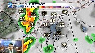 Rain Returns Thursday