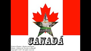 Bandeiras e fotos dos países do mundo: Canadá [Frases e Poemas]