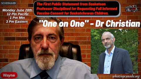 """Doctor Talks Part 13: """"One on One"""" with Dr Christian, Disciplined for Informed Consent Request"""