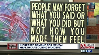 Increased demand for mental healthcare during pandemic