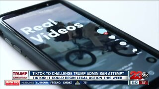 TIKTOK says it will fight the Trump Administration in court