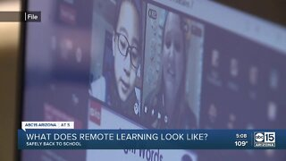 What does remote learning look like for Arizona students?