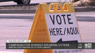 Maricopa County launches bilingual campaign to boost Latino voter turnout