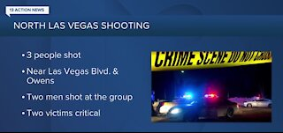 Shooting in North Las Vegas overnight