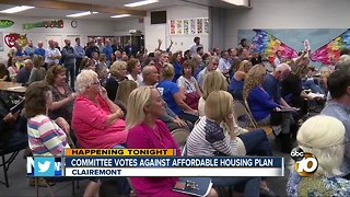 Clairemont residents pack meeting to oppose affordable housing project