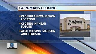Gordmans closing