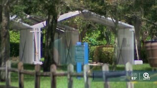 COVID-19 testing site becomes walk-up only in Delray Beach
