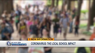 Students from 4 private schools self-quarantined after exposure to patient with COVID-19