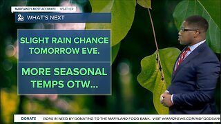Thursday Evening Rain Chance