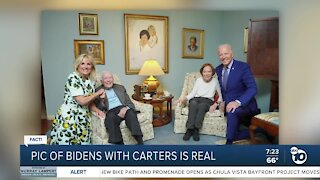 Fact or Fiction: Photo shows Bidens with Carters
