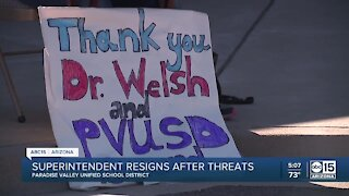 Paradise Valley Unified School District Superintendent resigns after threats