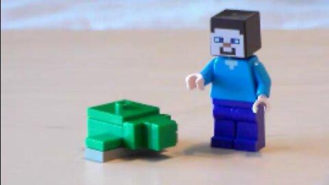 Lego Minecraft Turtle Tutorial