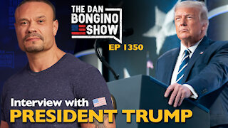 Ep. 1350 Full Interview with President Trump