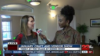 First craft and vendor show of the year kicks off