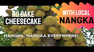 No bake cheesecake with local nangka!
