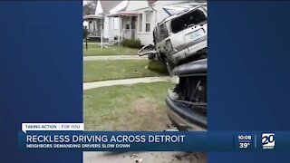 Reckless driving continues across Detroit