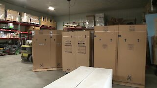 Water heaters for Habitat for Humanity