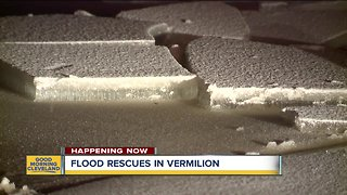 Ice jam causes flooding, evacuations on the Vermillion River