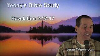 66 Revelation 2:12-17 - Pastor Ken Zenk - Bible Studies