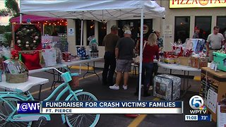 Fundraiser for crash victims' families