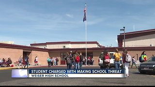 Student charged with making school threat in Weiser