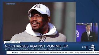 Broncos' Von Miller will not face charges after Parker police investigation