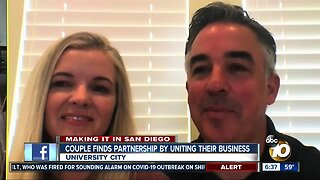 San Diego couple finds partnership by uniting their businesses