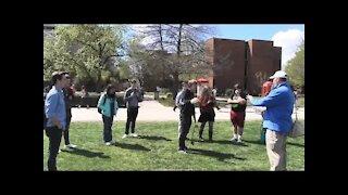 University Of Oklahoma | Open Air Preaching | Spring 2017 | Kerrigan Skelly
