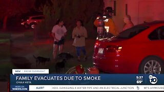 Family displaced after electrical issue