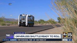 Driverless shuttle coming to Arizona