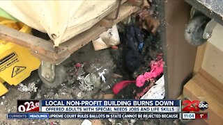 Non-profit thrift store destroyed by fire in downtown