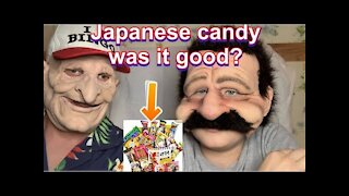 Doing a Mukbang while reviewing candy from Japan (Amazon)