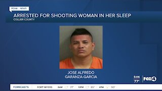 Collier County man arrested for shooting woman
