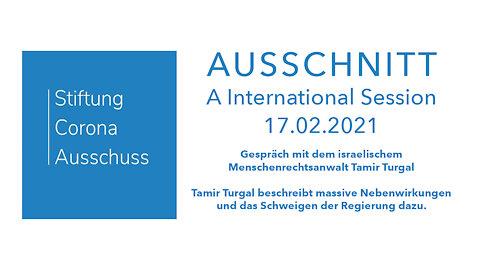 Corona-Ausschuss - A International Session - Israel (mit Menschenrechtsanwalt Tamir Turgal)