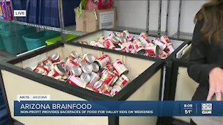"""Nonprofit provides backpacks of """"brain food"""" for Valley children"""