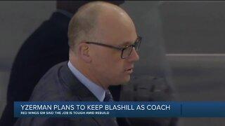 Steve Yzerman plans to bring back Blashill, re-sign Mantha, Bertuzzi