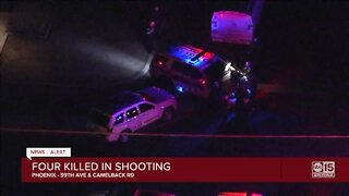 Four killed, 1 hurt in shooting at Phoenix home