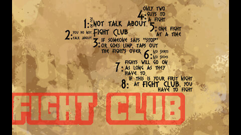 The Rules of Fight Club | The Washington Pundit