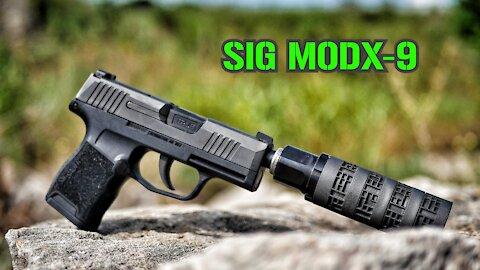 SIG MODX-9 Suppressor : TTAG Range Review Modular 9mm Silencer SIG SAUER