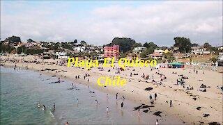 El Quisco beach in Chile
