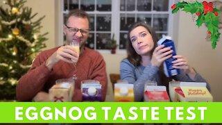 Taste Challenge: EGGNOG 2020