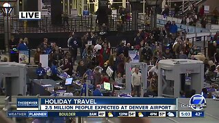 Holiday travel at DIA