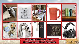 The Teelie Blog | 15 Best Gifts for Your Bookworm Best Friends | Teelie Turner