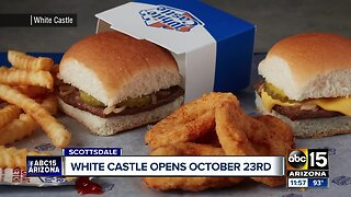 Here is when White Castle will open its doors in Arizona