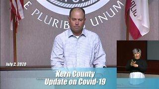 Kern County Health Department Coronavirus Update: July 2, 2020