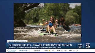OutdoorShe offering surprise adventures for women who love trips