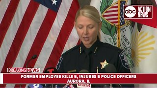Illinois man being fired from job fatally shoots 5 workers