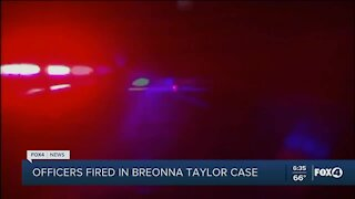 Officers fired in Taylor case