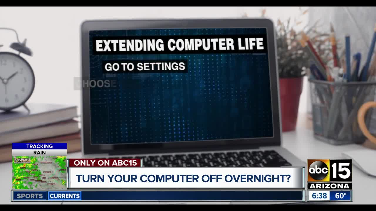 Should you turn your computer off when you're not using it?