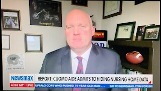 Lalor Discusses Bombshell Admission by Cuomo Admin That They Covered Up Nursing Home Deaths